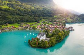 Những cảnh đẹp tại Thuỵ Sĩ xuất hiện trong phim Hạ cánh nơi anh