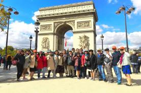 Đa dạng đường tour Châu Âu trọn gói, chất lượng 4 – 5 sao