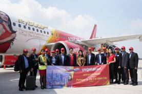 Vietjet khai trương đường bay thẳng TP HCM - Pattaya