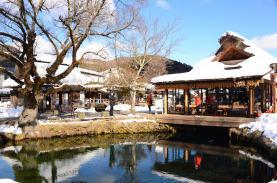 Yamanashi the sacred land of dragon