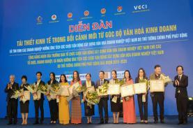 TST tourist nhận bằng khen Doanh nghiệp tích cực xây dựng VHDNVN