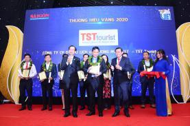 TST tourist vinh dự nhận giải thưởng Thương hiệu Việt yêu thích nhất 2020