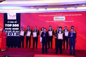 TST Tourist honored on Top 10 reputable travel companies 2018