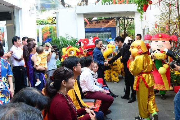 TST tourist tung chương trình khuyến mãi Xuân Phát Lộc 2018