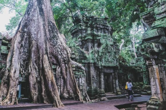 Ta Prohm - ngôi đền của những rễ cây kỳ dị