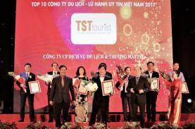 TST tourist đón nhận Top 10 Công ty du lịch - lữ hành uy tín năm 2017 - Vietnamnet