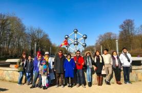 TST tourist tổ chức lễ rút thăm may mắn chương trình khuyến mãi Xuân 2018