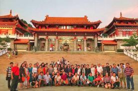 Rực rỡ sắc đỏ may mắn Đài Loan