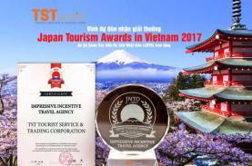 TST tourist nhận giải thưởng Japan Tourism Award 2017