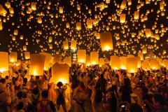 CHIANG MAI - CHIANG RAI: LỄ HỘI THẢ ĐÈN TRỜI YI PENG VÀ HOA ĐĂNG LOY KRATHONG