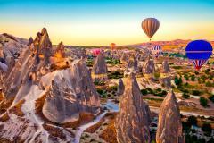 THỔ NHĨ KỲ: ISTANBUL - CANAKKALE - KUSADASI - PAMUKKALE - CAPPADOCIA - KONYA (30AL - Mùng 8 Tết)